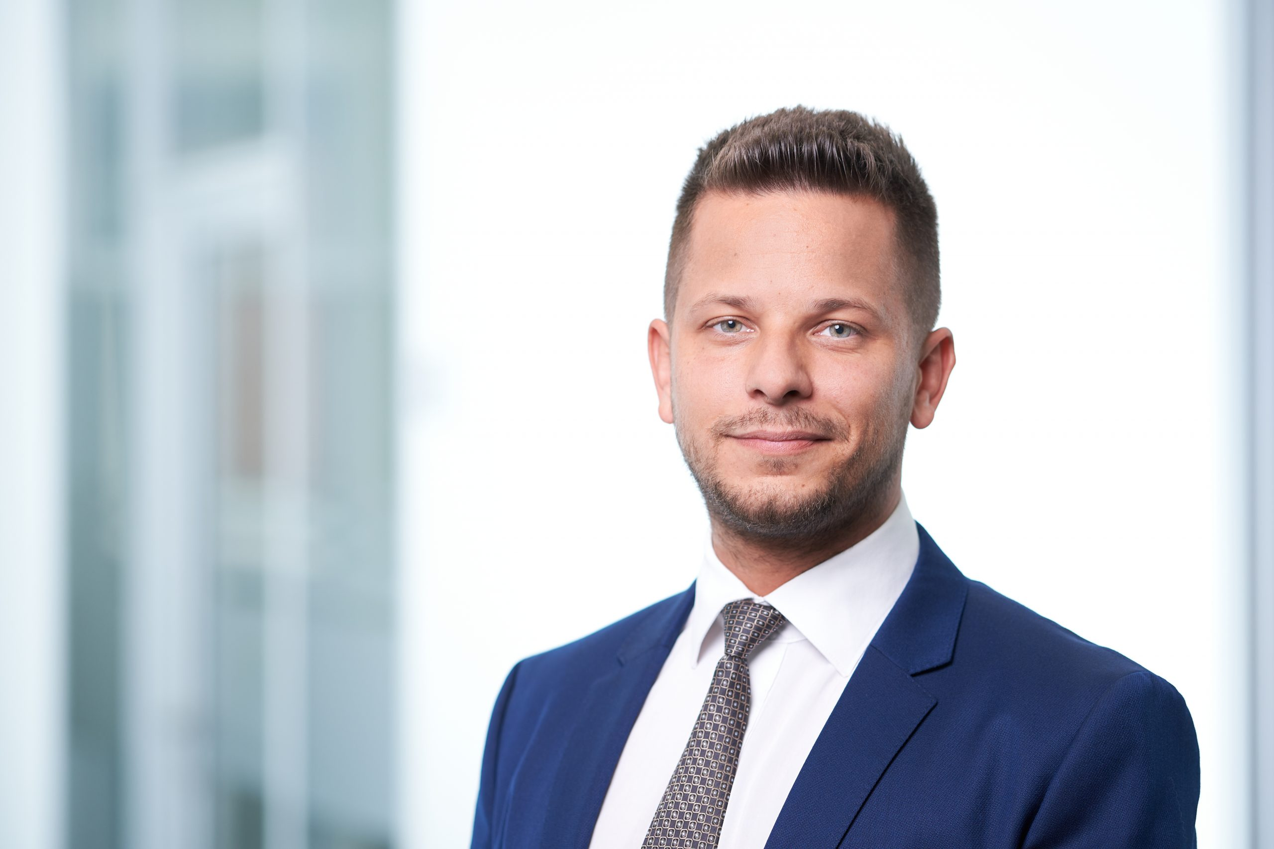 Regionalleiter Denis Wachter